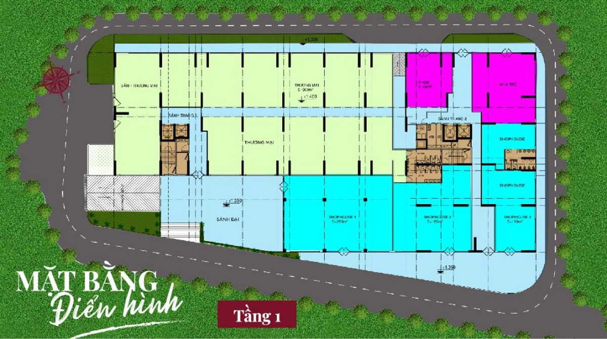 mat bang tang 1 du an legend complex - Legend Complex