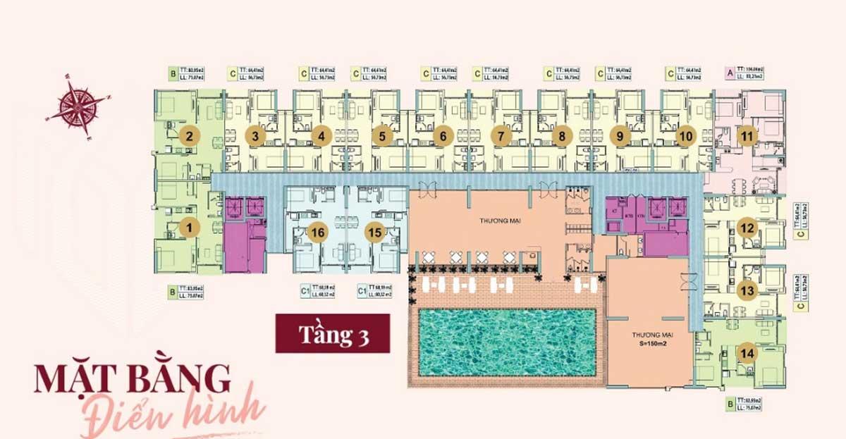 mat bang tang 3 du an legend complex - Legend Complex