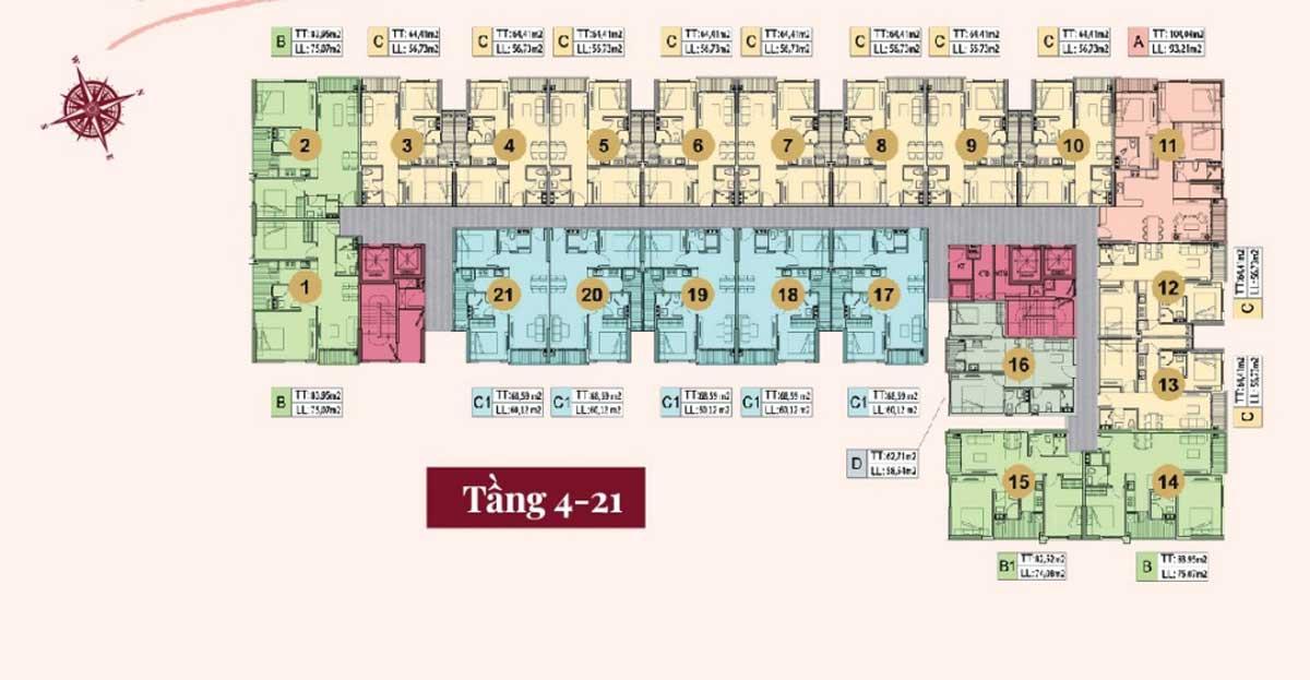 mat bang tang 4 21 du an legend complex - Legend Complex