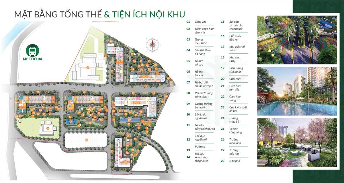 mat bang tien ich noi khu can ho picity central park - PICITY CENTRAL PARK