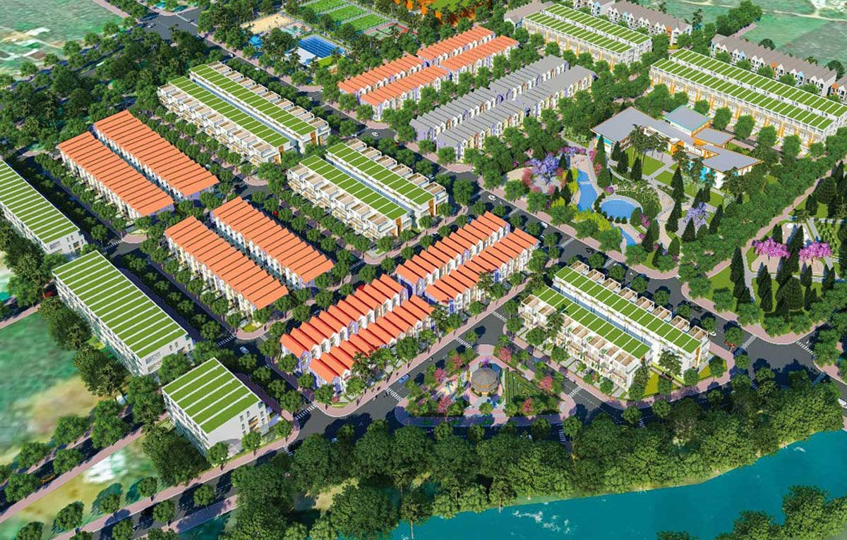 phoi canh du an bao loc golden city 2020 - BẢO LỘC GREENWICH