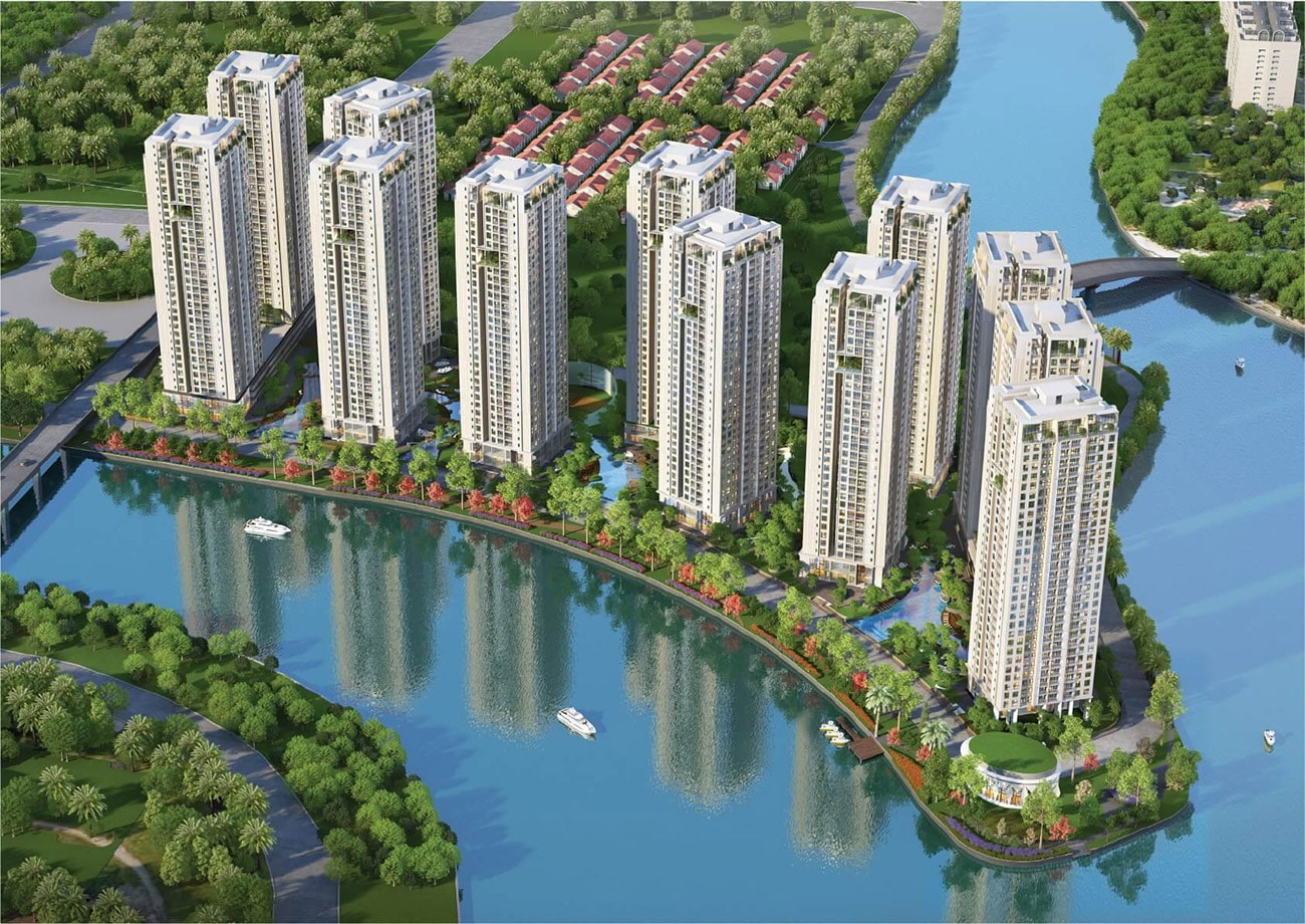 phoi canh tong the du an can ho gem riverside 2 - Gem Riverside Quận 2