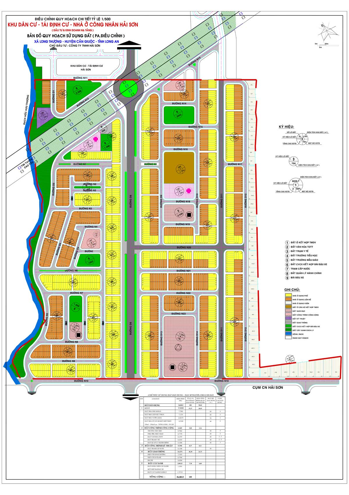 quy hoach du an Central Hill Nam Sai Gon - quy-hoạch-dự-án-Central-Hill-Nam-Sài-Gòn