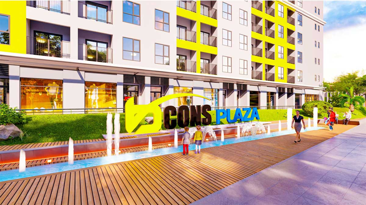 shophouse bcons plaza - BCONS PLAZA