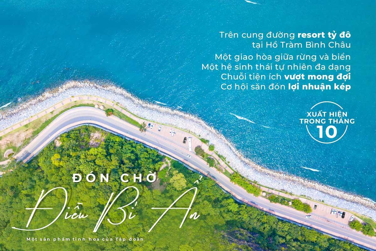 Vị trí Dự án Ho Tram Grace Celina Resort