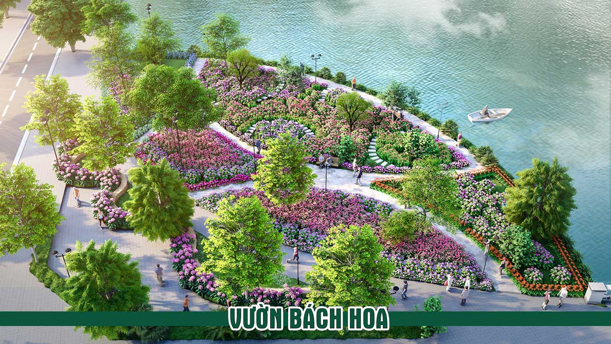 vuon bach hoa du an Thanh Son Riverside Garden - vuon-bach-hoa-du-an-Thanh-Son-Riverside-Garden