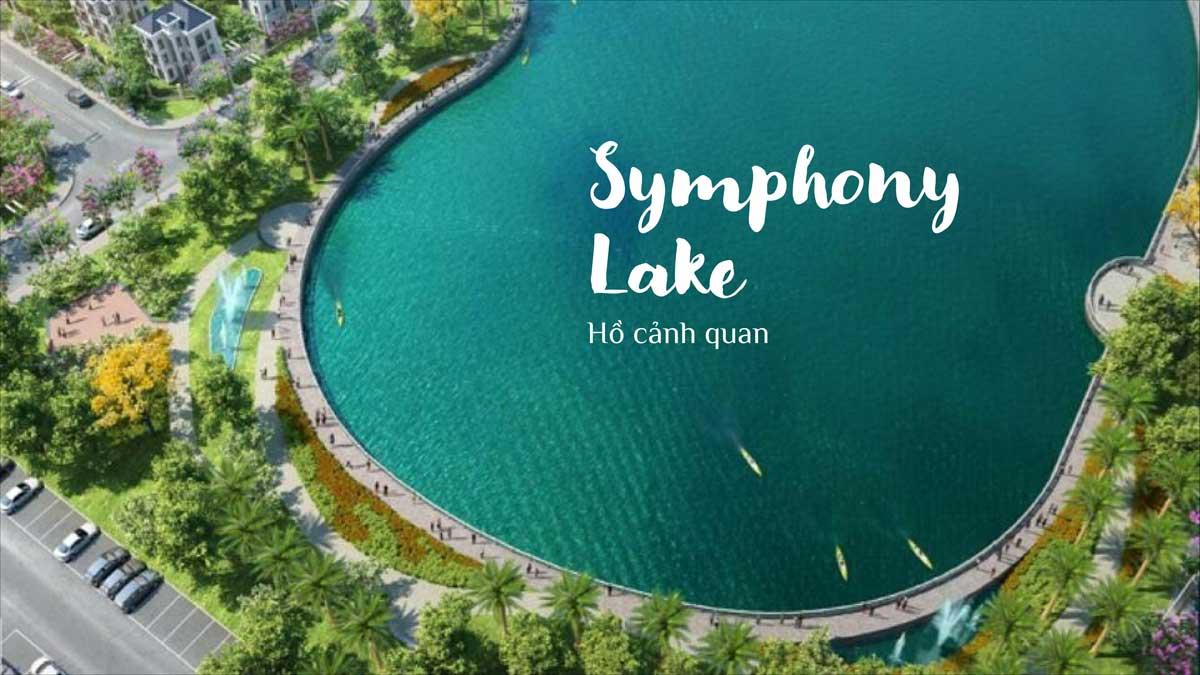 Ho canh quan Symphony Lake 5.000 m² - KOSY CITY BEAT THÁI NGUYÊN