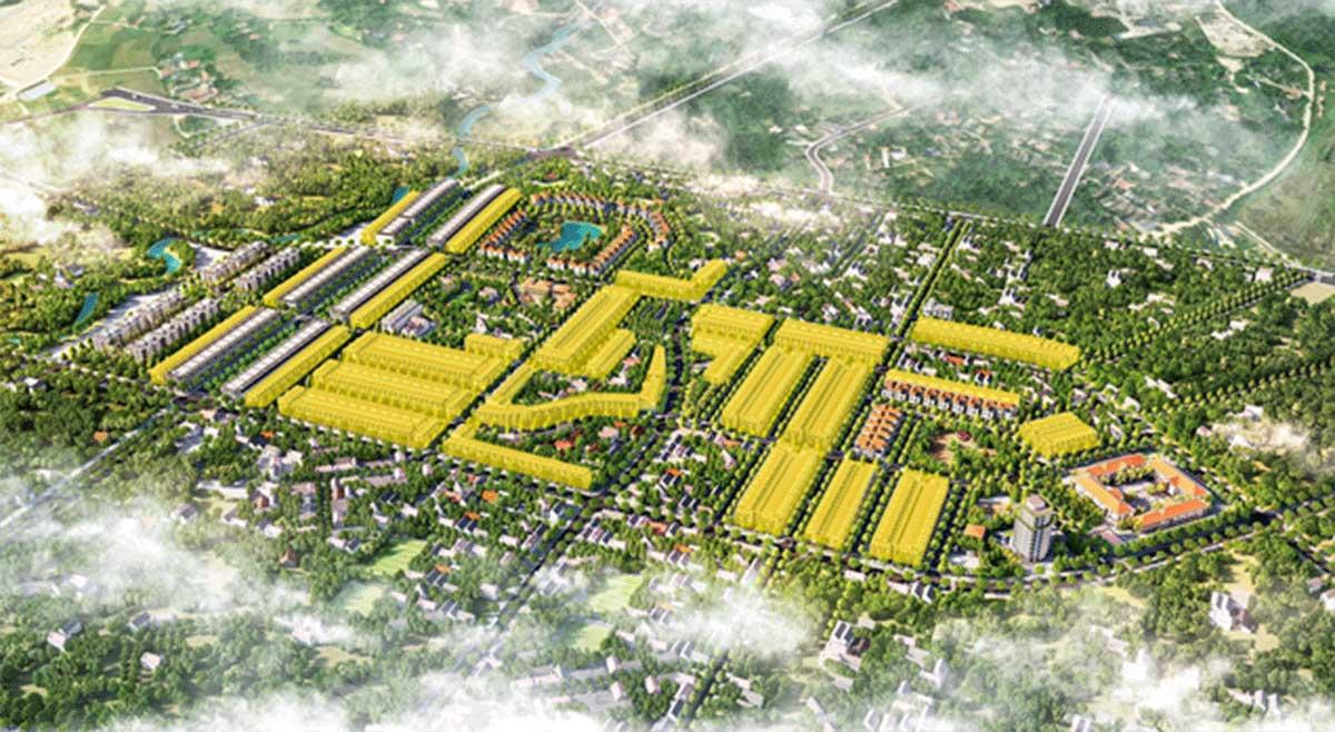 Khu nha pho lien ke Kosy City Beat Thai Nguyen - KOSY CITY BEAT THÁI NGUYÊN