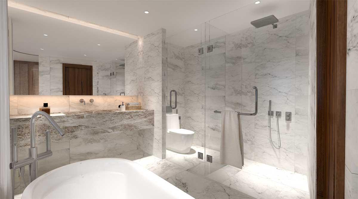 Toilet can ho Charm Resort Long Hai 2021 - CHARM RESORT LONG HẢI