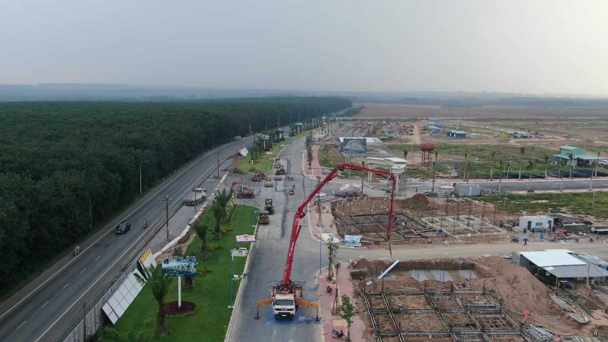 cap nhat tien do thi cong du an century city thang 11 nam 2020 moi nhat - CENTURY CITY LONG THÀNH ĐỒNG NAI