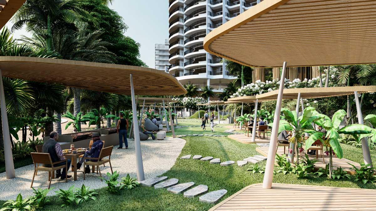 cong vien noi khu du an charm long hai resort - CHARM LONG HẢI RESORT