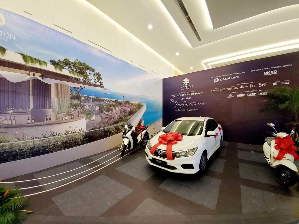 gia thuong danh cho khach hang mua can ho the aston - Lễ Mở bán Dự án The Aston Luxury Residence Nha Trang