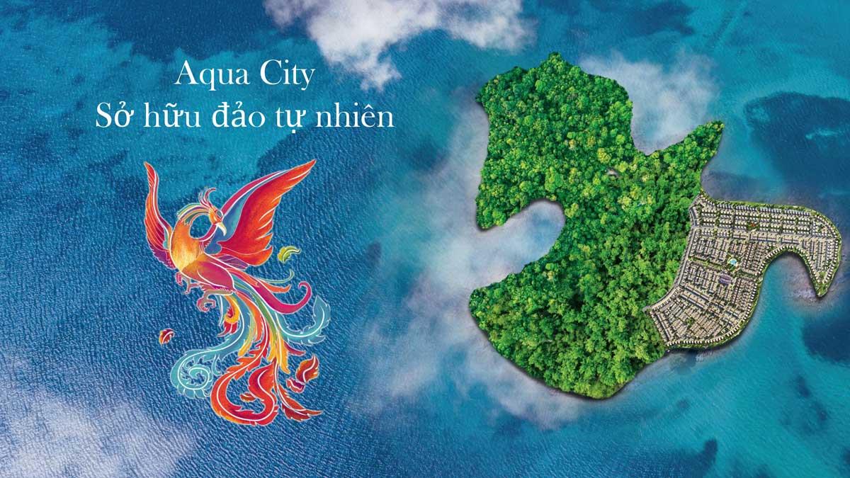 logo dao phuong hoang aqua city - ĐẢO PHƯỢNG HOÀNG PHOENIX ISLAND