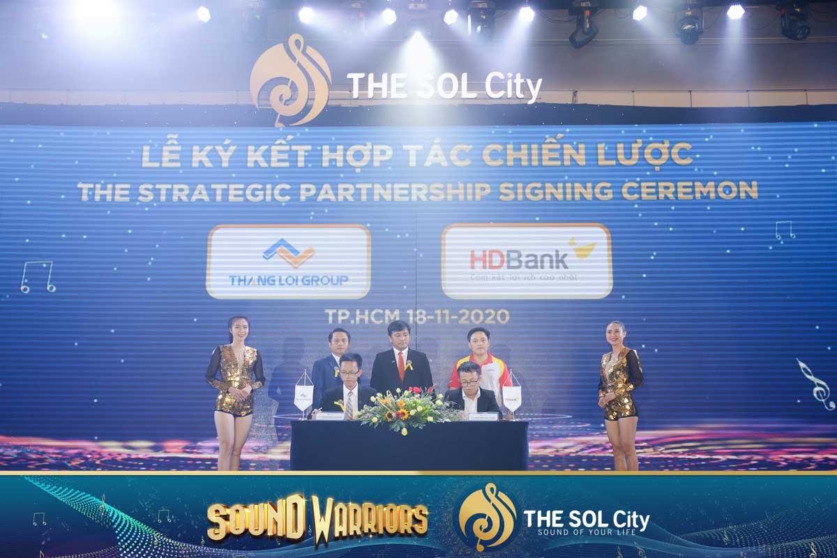 tap doan thang loi ky ket hop tac chien luoc voi ngan han HDBank - The Sol City