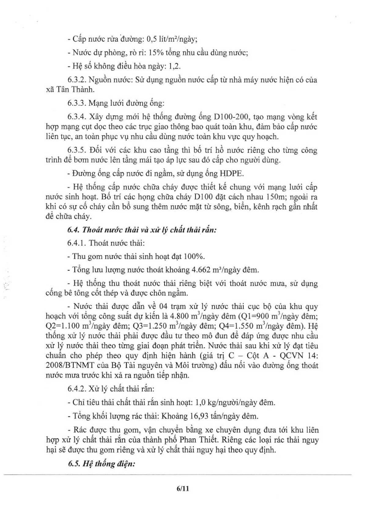 02. UBND 39 QD PHE DUYET QH CHI TIET XD TH DLND TLB 006 thanh long bay - Wyndham Coast By Thanh Long Bay
