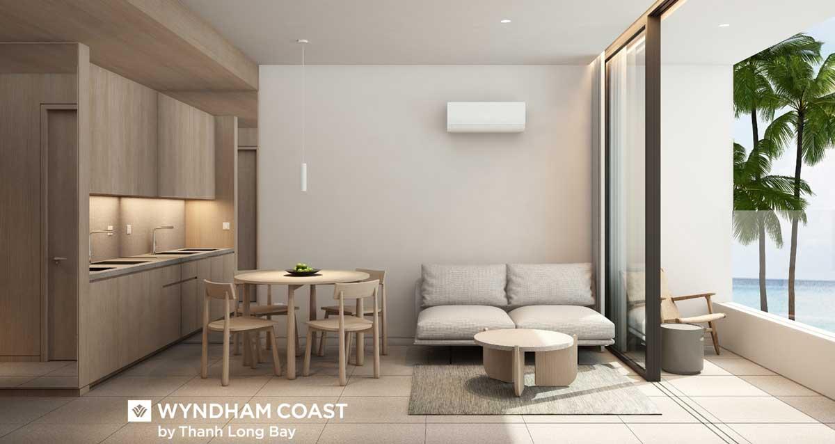 Can ho mau 2PN Wyndham Coast By Thanh Long Bay Binh Thuan - Wyndham Coast By Thanh Long Bay