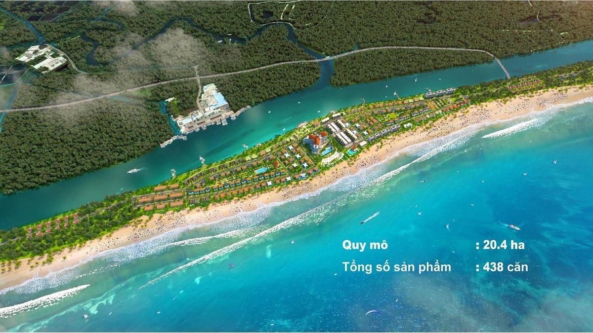 Phối cảnh Habana Island Hồ Tràm