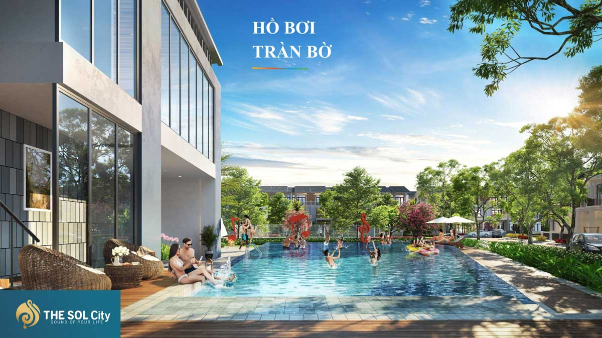 Ho boi tran bo The Sol City - The Sol City