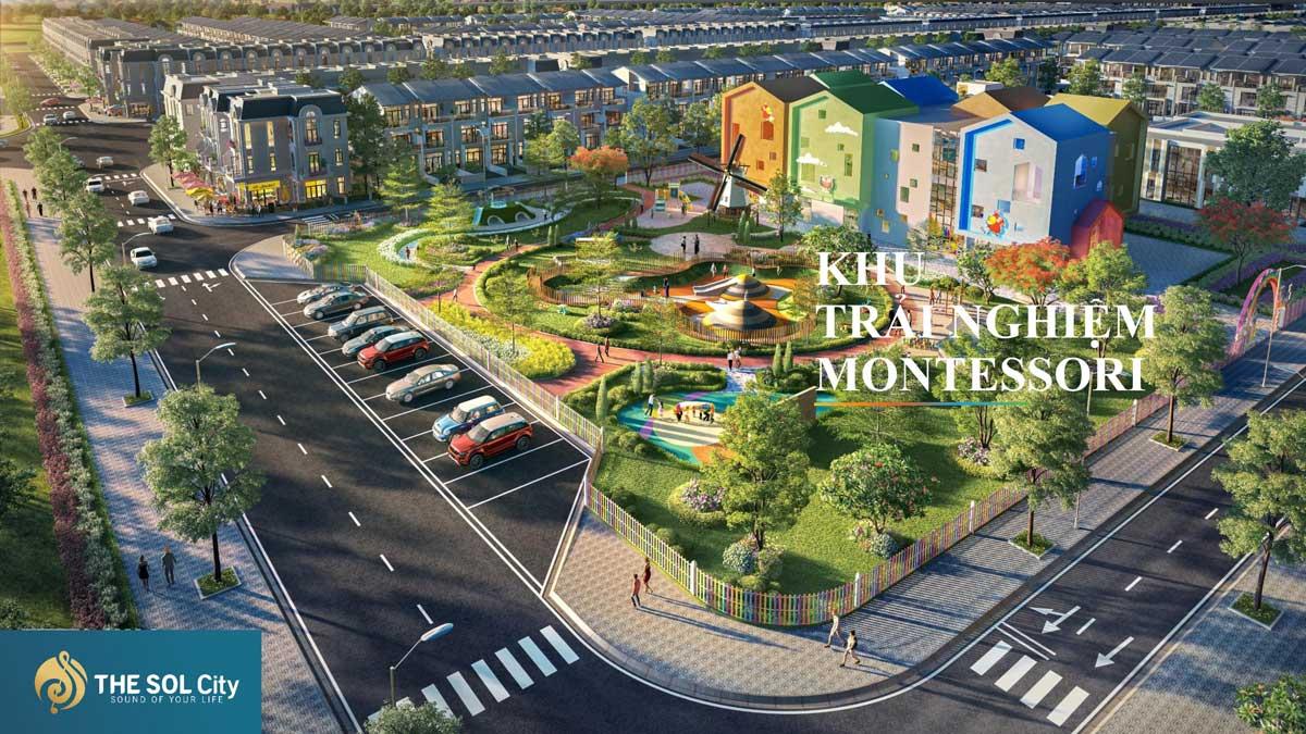Khu trai nghiem Montessori The Sol City - The Sol City