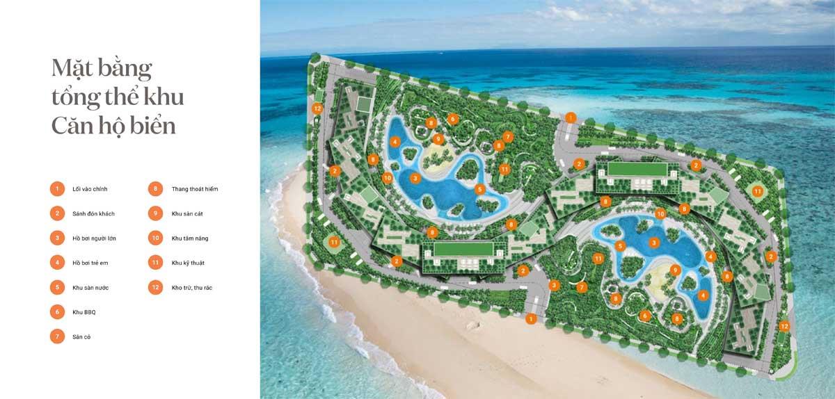 Mat bang Can ho Wyndham Coast - Wyndham Coast By Thanh Long Bay
