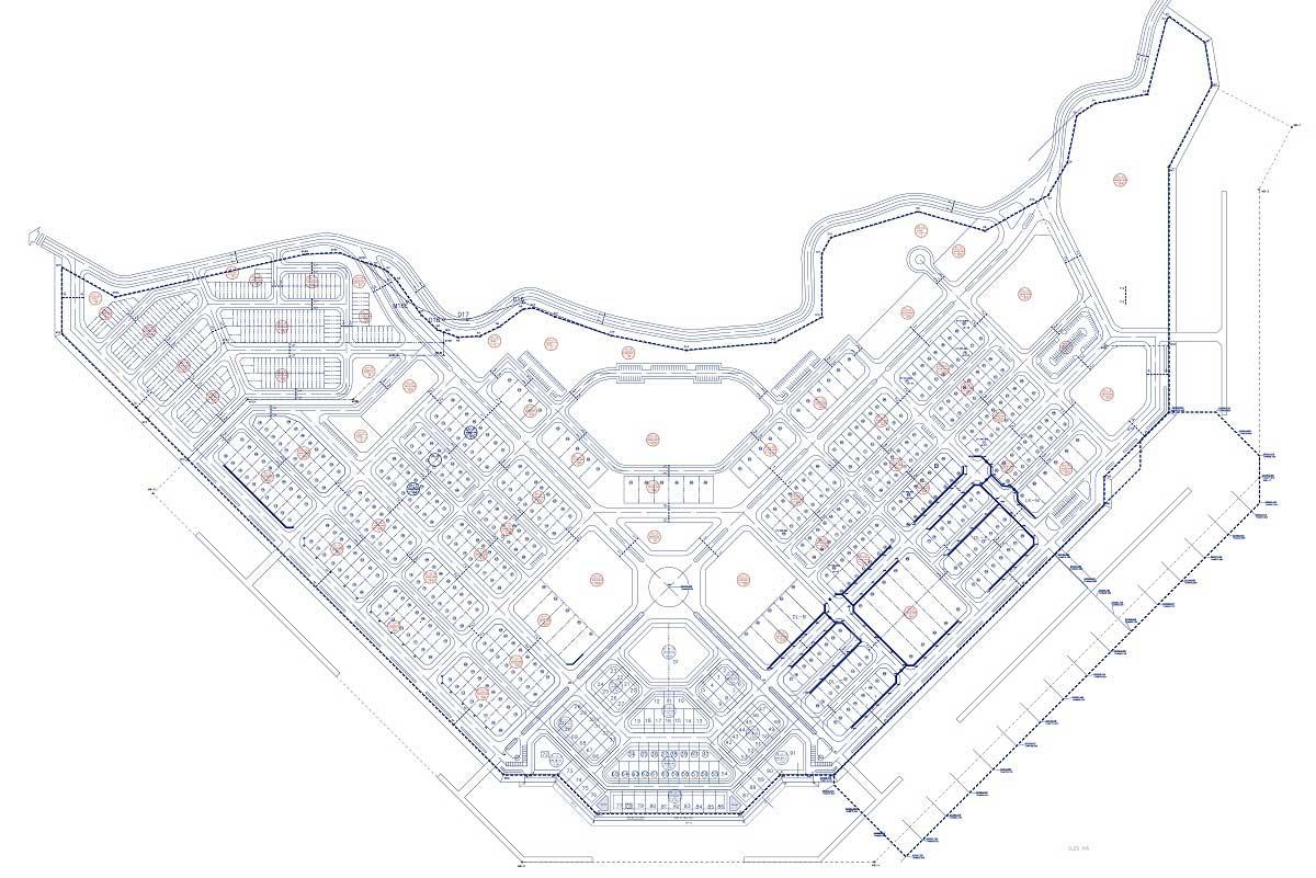 Mat bang Du an Khu Do Thi An Vien Nha Trang - Dự án Khu Đô Thị An Viên Nha Trang