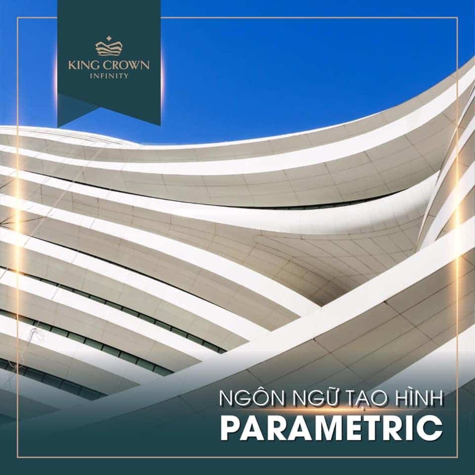Ngon ngu tao hinh Parametric King Crown Infinity - KING CROWN INFINITY THỦ ĐỨC