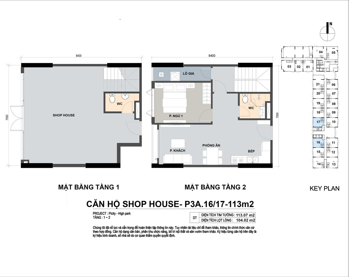 P3A 1617 113m2 - Shophouse Picity High Park