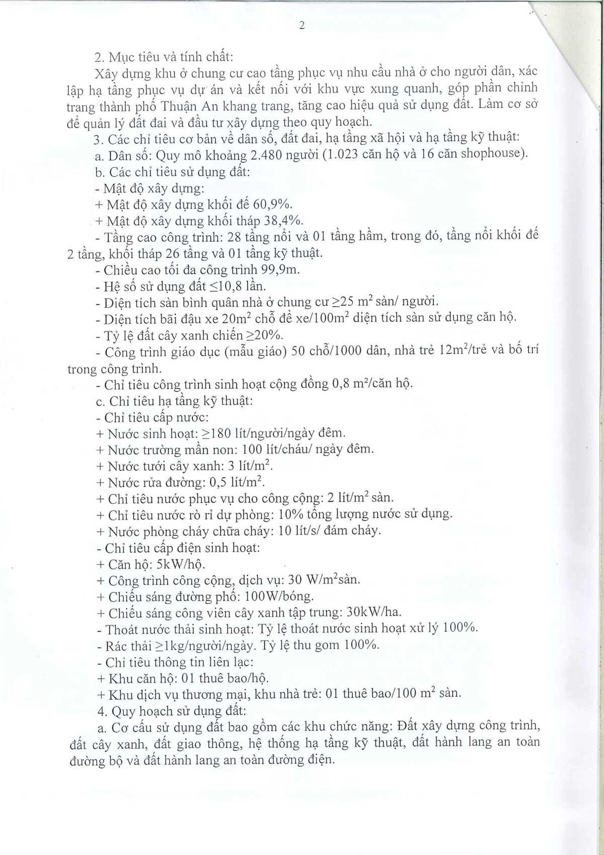 Phe duyet Quy hoach 1 phan 500 Du an The Rivana 2 - CĂN HỘ THE RIVANA BÌNH DƯƠNG