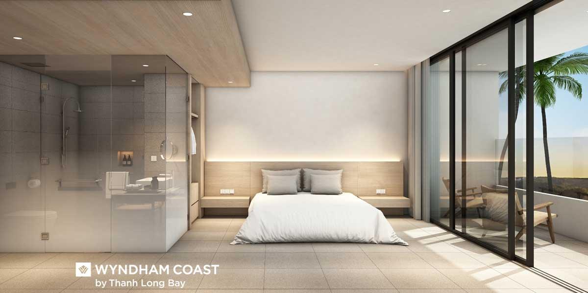 Phoi canh Can ho mau 1PN Wyndham Coas By Thanh Long Bay Phan Thiet - Wyndham Coast By Thanh Long Bay