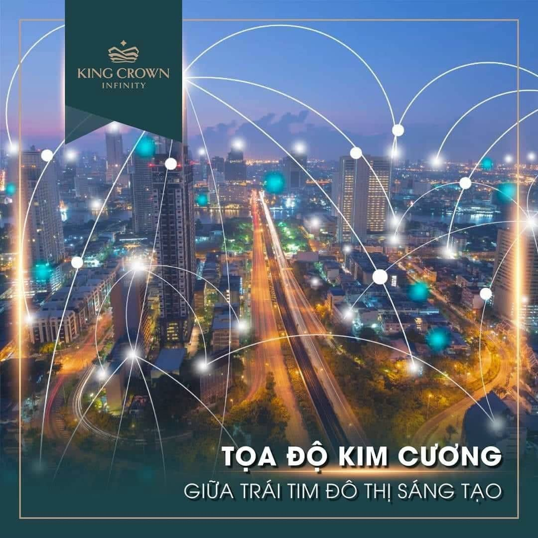 Toa do kim cuong King Crown Infinity - KING CROWN INFINITY THỦ ĐỨC