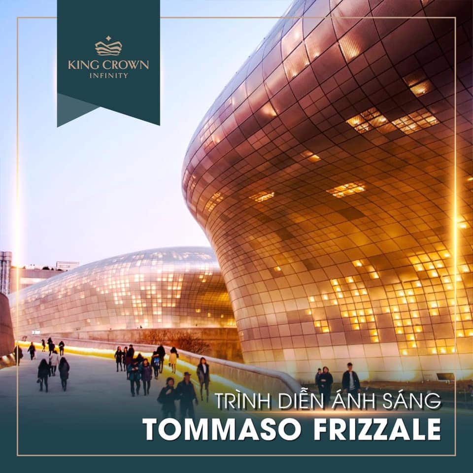 Trinh dien anh sang Tommaso Frizzale King Crown Infinity - KING CROWN INFINITY THỦ ĐỨC