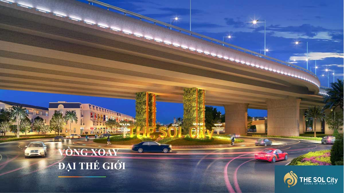 Vong xoay dai the gioi The Sol City - The Sol City