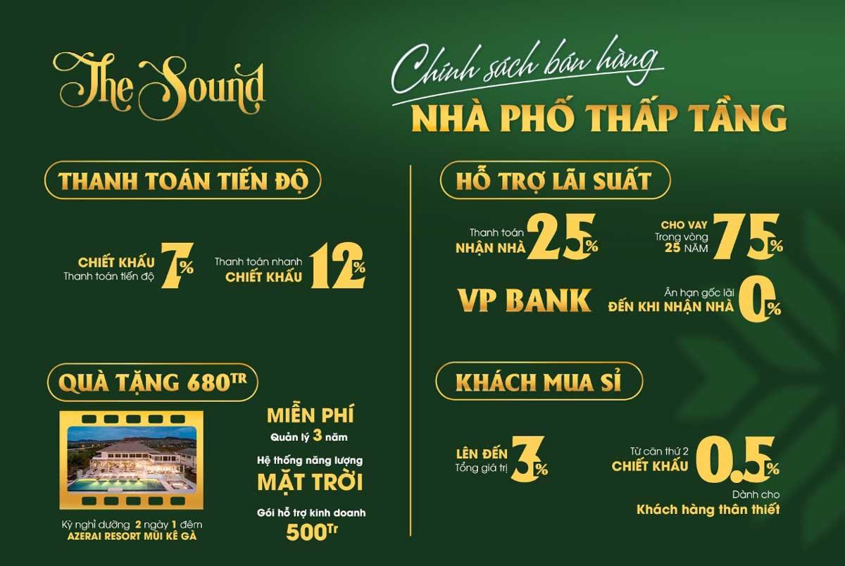 chinh sach ban hang nha pho the sound va the song thanh long bay - chinh-sach-ban-hang-nha-pho-the-sound-va-the-song-thanh-long-bay