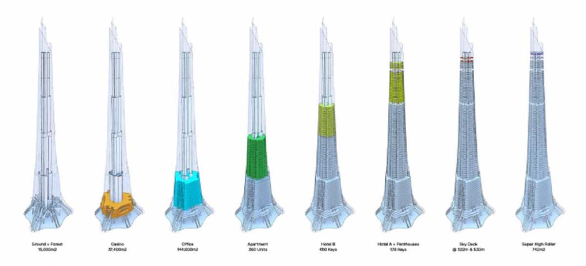 mat bang tang Phuong Trach Tower - Phương Trạch Tower