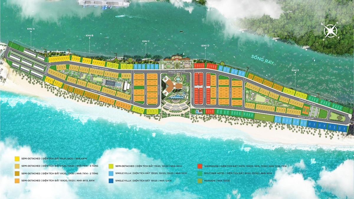 mat bang tong the phan khu habana island - Habana Island Hồ Tràm