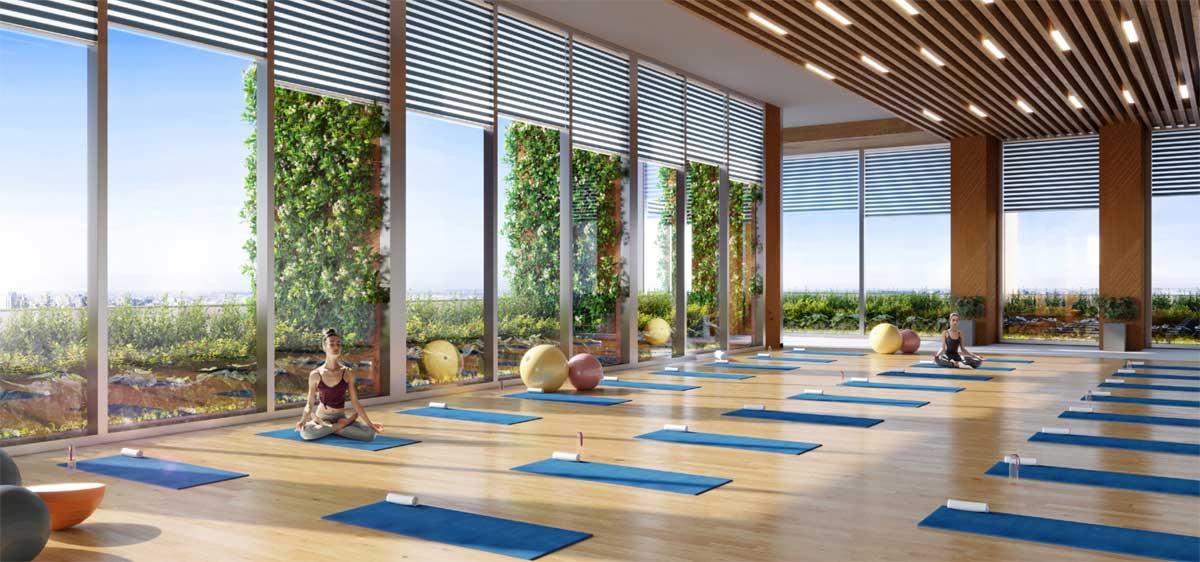 phong tap yoga happy one central - DỰ ÁN CĂN HỘ HAPPY ONE CENTRAL BÌNH DƯƠNG