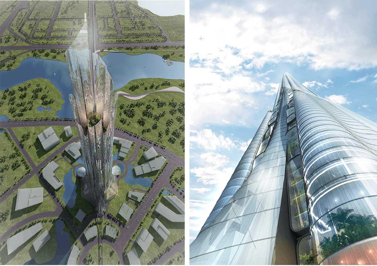 tong the thap phuong trach tower 108 tang ha noi - Phương Trạch Tower