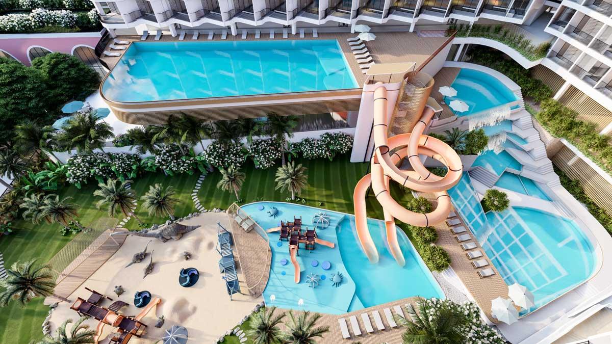 Condotel pool Charm Resort Long Hai - Condotel-pool-Charm-Resort-Long-Hai