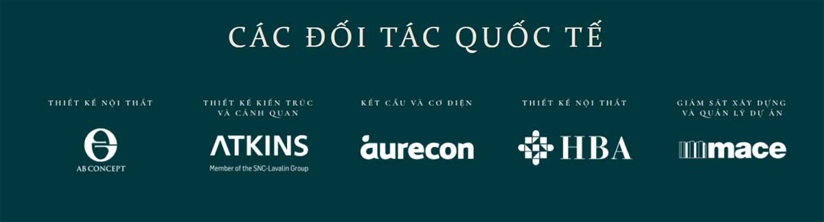 Doi tac Quoc te Du an Grand Marina SaiGon - GRAND MARINA SAIGON QUẬN 1