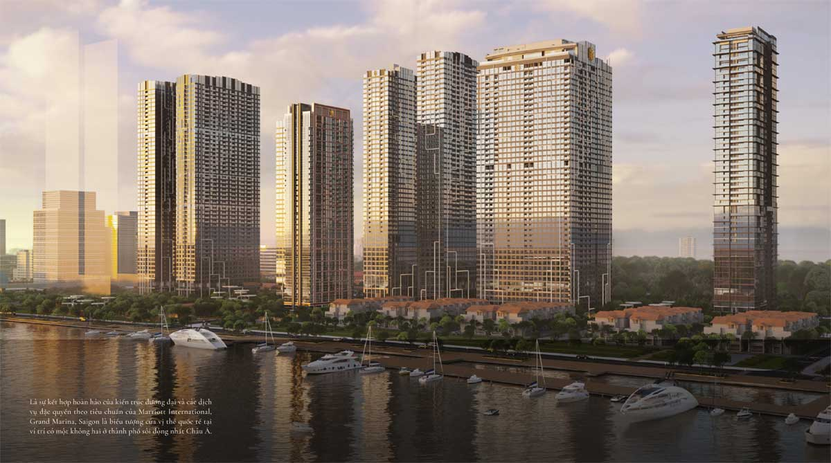 Du an Grand Marina Saigon Quan 1 - GRAND MARINA SAIGON QUẬN 1