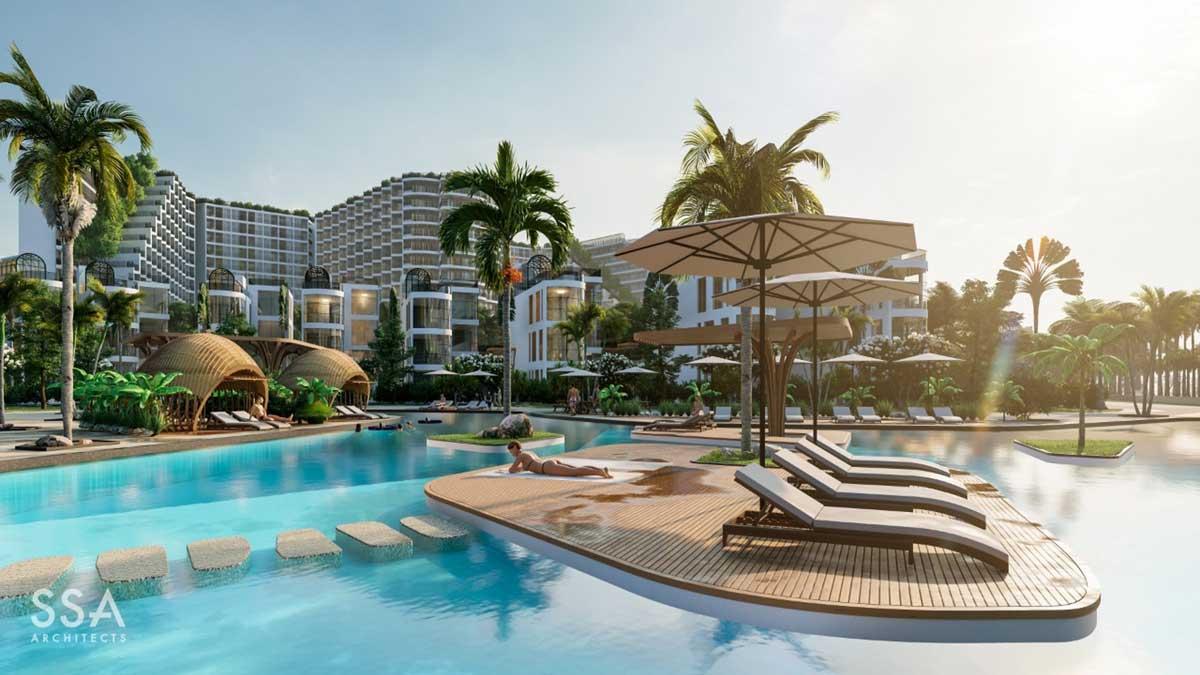 Ho boi SSA Charm Resort Long Hai - CHARM RESORT LONG HẢI