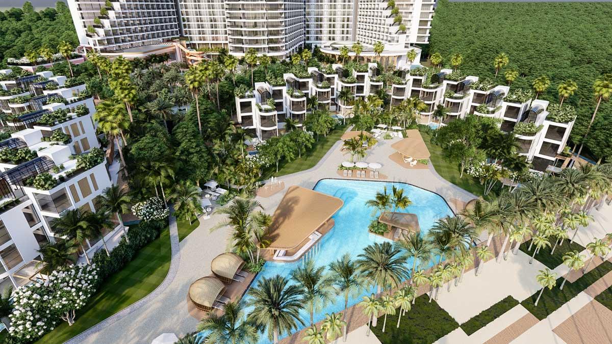 Ho boi tai Khu biet thu Charm Resort Long Hai - CHARM RESORT LONG HẢI