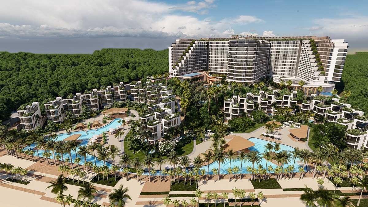 Khu biet thu Charm Resort Long Hai - CHARM RESORT LONG HẢI