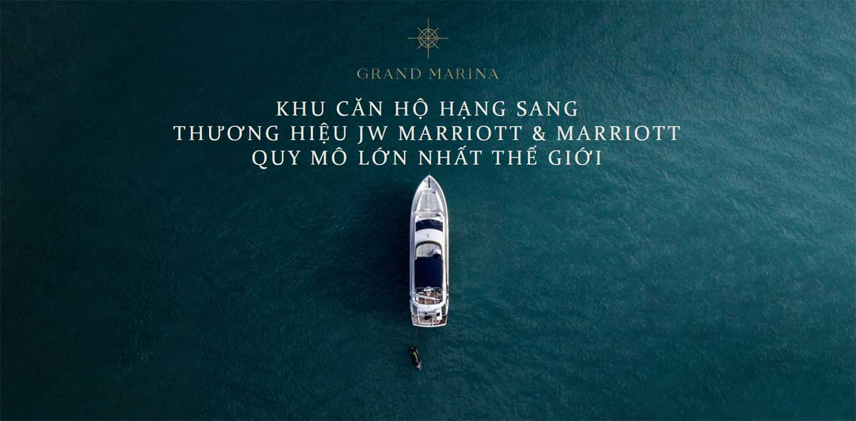 Khu can ho hang sang Grand Marina SaiGon - GRAND MARINA SAIGON QUẬN 1