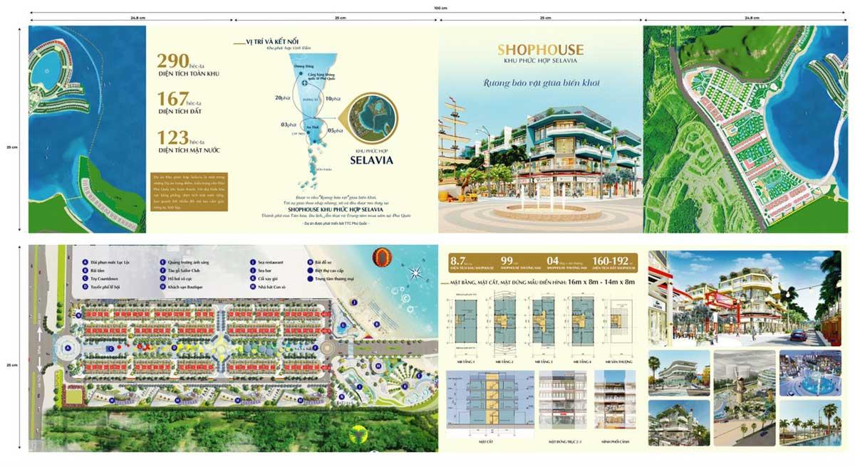 Mat bang Shophouse Selavia Bay Phu Quoc - SELAVIA BAY