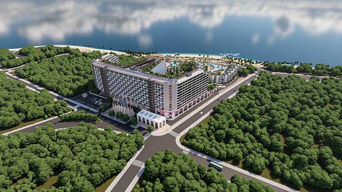 Mat sau Charm Resort Long Hai - CHARM RESORT LONG HẢI