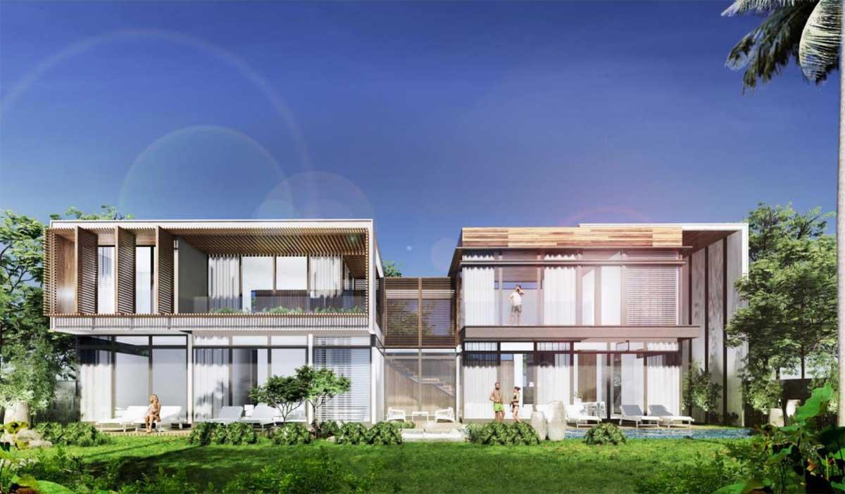 Phoi canh Biet thu President Villa - Hyatt Regency Ho Tram Residences
