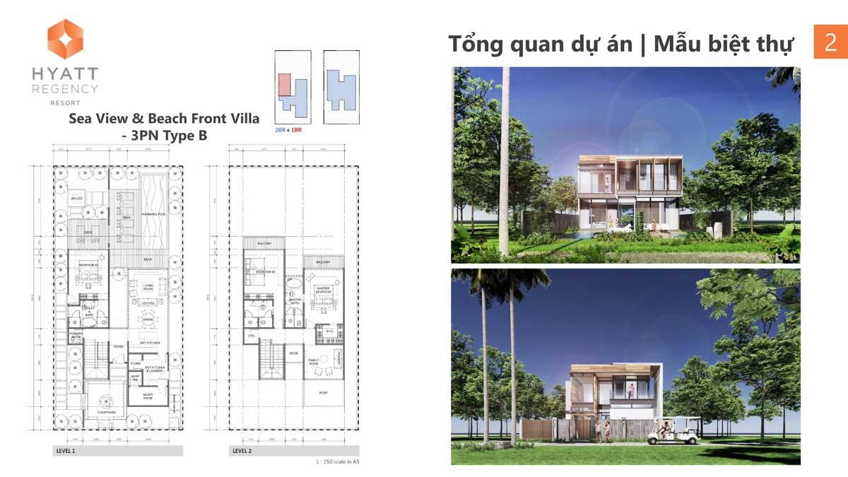 Sea View Villa Hyatt Regency Ho Tram Residences - Hyatt Regency Ho Tram Residences