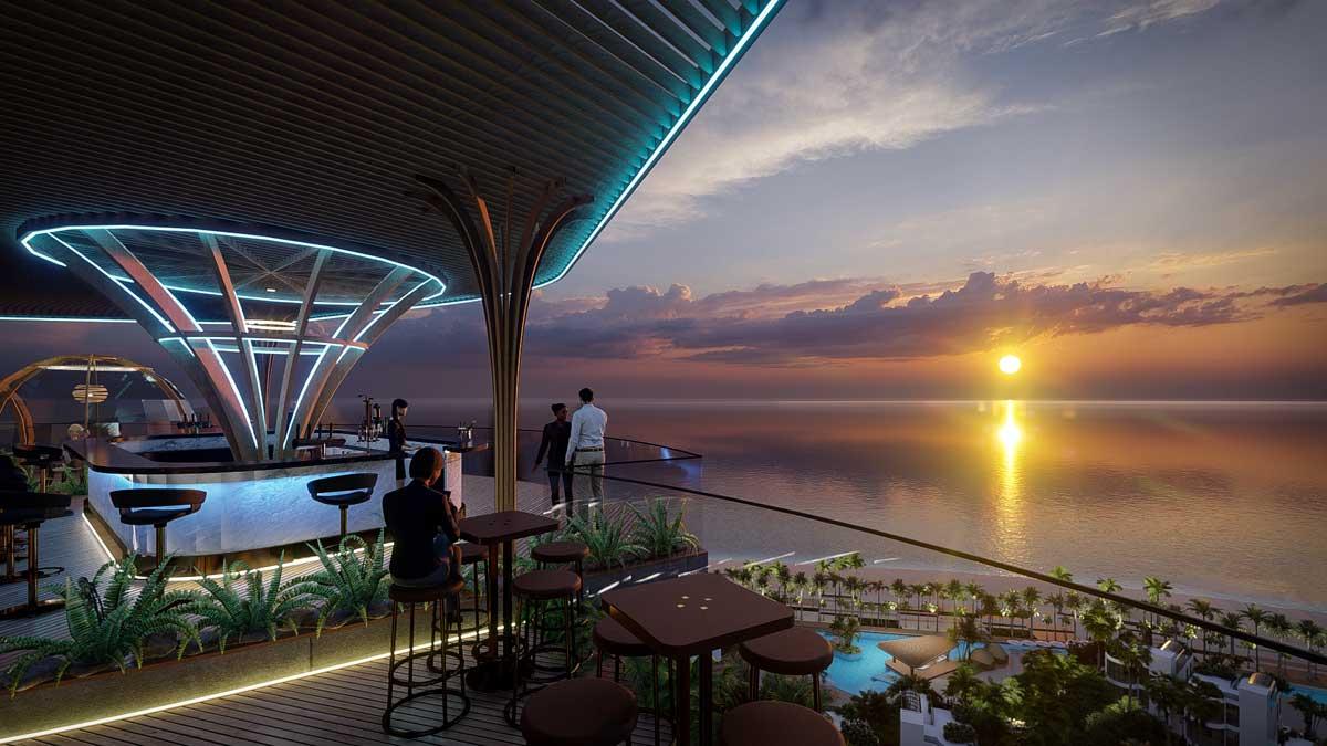 Skybar Charm Resort Long Hai - CHARM RESORT LONG HẢI
