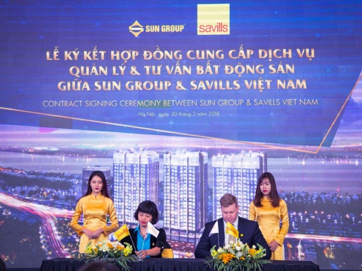 Sun Grand City Ancora Residence se do Savills van hanh - SAVILLS VIỆT NAM